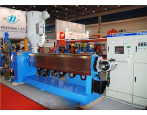Wire and Cable Plastic Extruding Machine