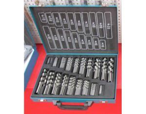 170 Pcs Hss Twist Drills, Polished, Bright Color (JY-H17003)