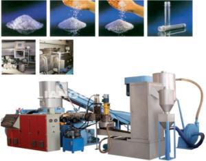 PE,PP Recycling & Granulating System