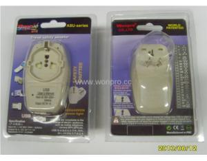 US 220V Plug Adapter (Grounded, NEMA 6-20P) (WAIIIv-21. BK)