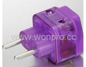 EU (European Union) Plug Adapter  (WADB-9C. P. PL. L)