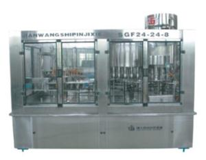 SGF SERIES WSHING-FILLING-CAPING 3-IN-1 UNIT