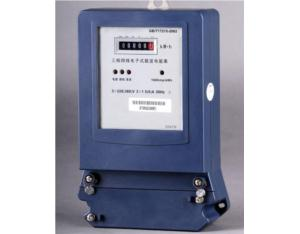 Three-Phase Power Load Carrier Kwh Meter