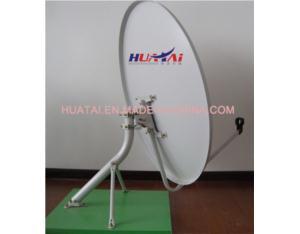 Ku Band 100cm Dish Antenna Pole Mount