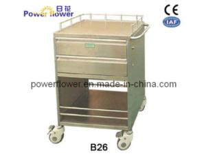 Stainless Steel Medication Trolley B26