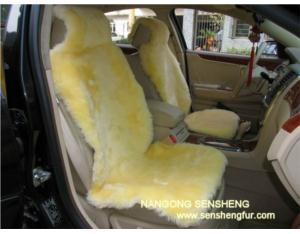 CAR SEAT COVER BEIGE