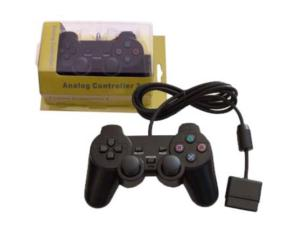 Game Controller with Dual Shock for PS2 (Video Game Joypad): OS-050201