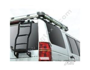 Rear Ladder Black Powder Coated for Land Rover Discovery 3