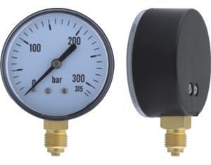 Solid Front Pressure Gauge (MY-PLN-L063)