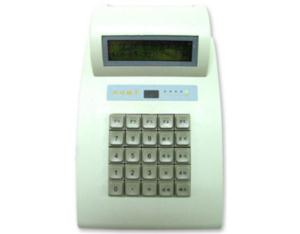 Off line information writing and money charging machine