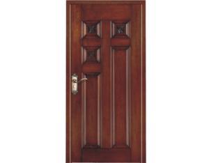 Solid Door (NTH-05)(with Nature Wood Veneer)