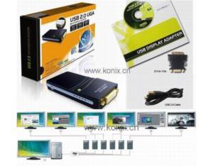 USB 2.0 to DVI External Video Adapter (W720)