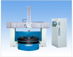 CNC Horizontal Lathe for Processing Precise Parts Like Flange and Tire Mould