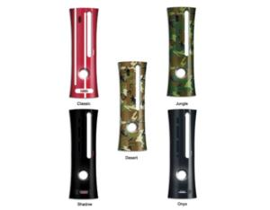 Xbox 360 Faceplate 5 Color with Pattern