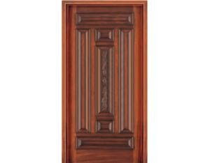Solid Wooden Door (NTA-7DH)(with Nature Wood Veneer)