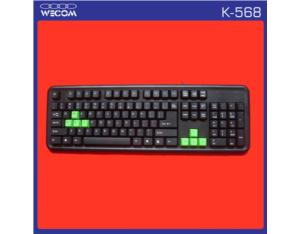 Wired Computer Keyboard (K-568)