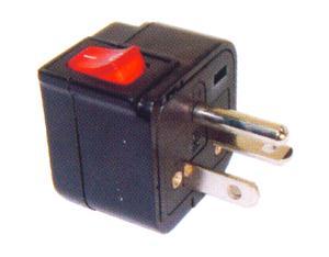 US 220V Plug Adapter (Grounded, NEMA 6-20P)