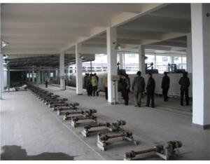 Production Line for Aerated Concrete Pane and Block