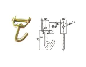Wire Hooks (WH51-335)