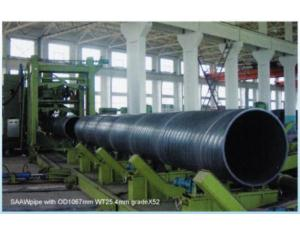 Spiral Welded Pipe (Q235)