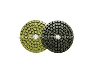 Wet Polishing Pads With Qrs (WPS404)