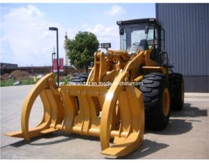 Wheel Loader With Log Grapple