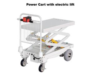 Power Cart With Double Scissor Lift (ZY-106)