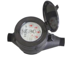 Multi Jet Dry Dial Plastic Water Meter (LXSG-15S~25S)