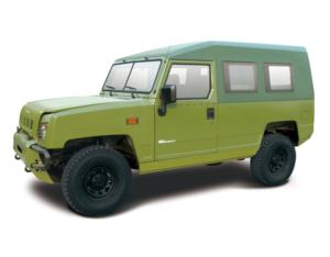 BAW Second Generation 3-door 4WD Military Vehicle (BJ2036CJT2)