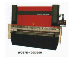 WC67K Economic Hydraulic Press Brake