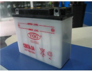Motorcycle Parts-Motorcycle Battery (12N7A-3A)