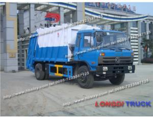 SLA5160ZYSE6 Garbage Compactor Truck