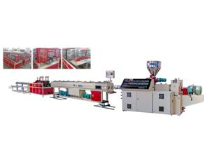 Double-Pipe Extruding Production Line