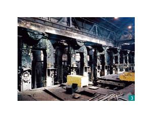 The removal and installation project of two million tons steel plate production line of TS
