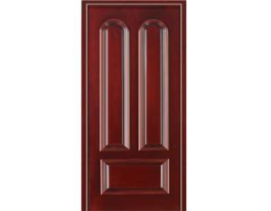 Solid Wood Door with Nature Wood Veneer (NTQ-09)