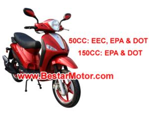 50CC/125CC/150CC Piaggio Style Scooter (RS-901)