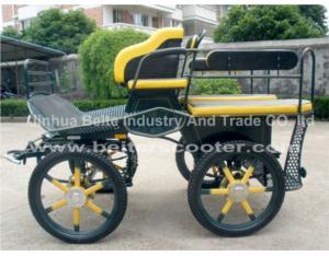 Pleasure Horse Carriage With 4 Wheels Brake (BTH-02A)