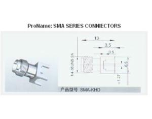 SMA Connector (SMA-C-KHD)