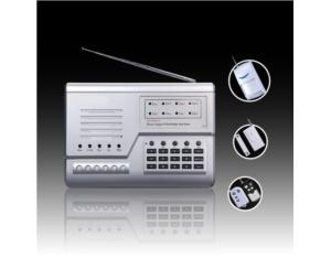 GSM Alarm System with Exquiste Housing and 10-Zones (HT-110B-1C (GSM))