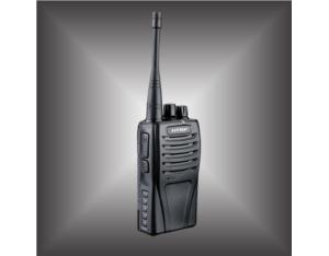 VHF/UHF Two Way Radio with 5 W RF Output Power and Voice Annunciation (HT-7804)