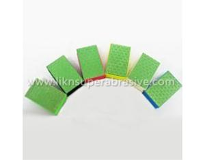 Diamond Hand Pad With Foam Holder (HPT001)