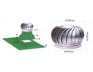 Non-power Roof Ventilator