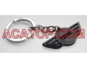 Auto Accessories Tuning Real Carbon Fiber Key Chain