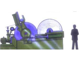 Horizontal Pneumatic Drum Winding Machine