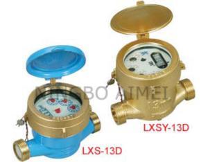 Rotary Vane Wheel Single-Jet Water Meter (LXSY-13D LXS-13D)