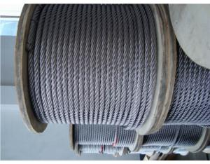 6x19 S. S. Wire Rope (AISI304, 316)