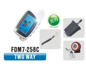Two Way Motorcycle Alarm FDM7-258C