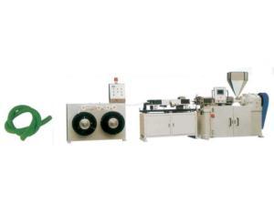 PVC Spiral Steel Wire Reinforced Transparent Hose Production Line