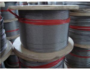 1x19 S. S. Wire Rope (AISI304, 316)