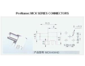 MCX Connector (MCX-C-KWHD)